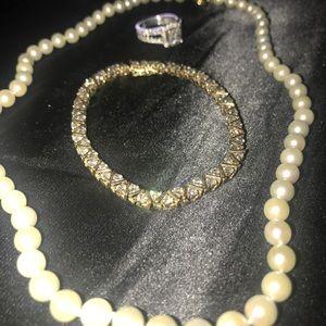 Jewelry - Diamond Tennis Bracelet 4kt